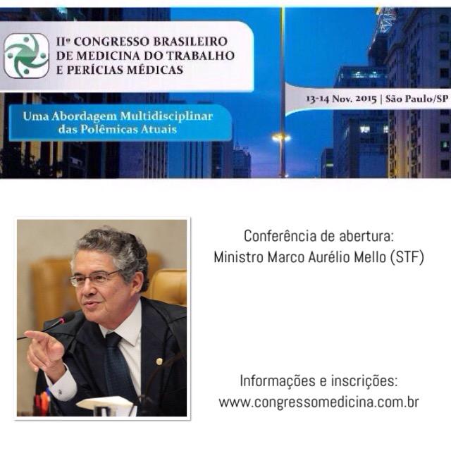 Congresso 2015 com Ministro Marco Aurélio